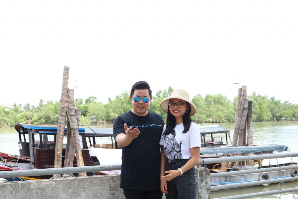 Ca sĩ Quang Lê, Phương Mỹ Chi trải nghiệm Du lịch C2T - Bến Tre