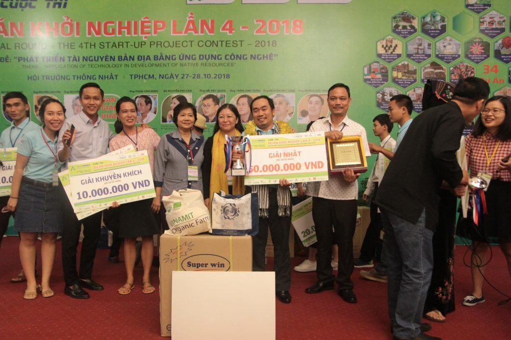 Năm 2018, hội thi khởi nghiệp do BSA tổ chức, Bến Tre giành nhiều giải cao.