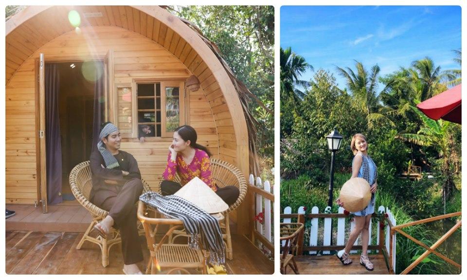 Buổi sớm tinh mơ tại Homestay Cocoland - Du lịch C2T