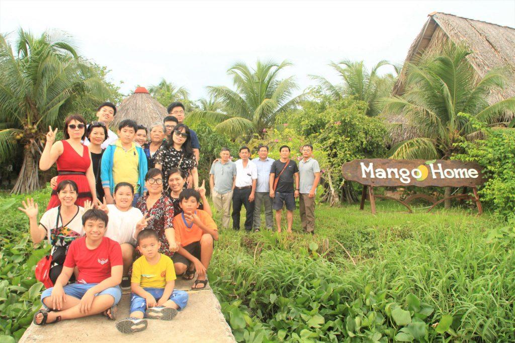 Về Bến Tre các bạn nhớ Check in Mango home nhé- du lịch C2T