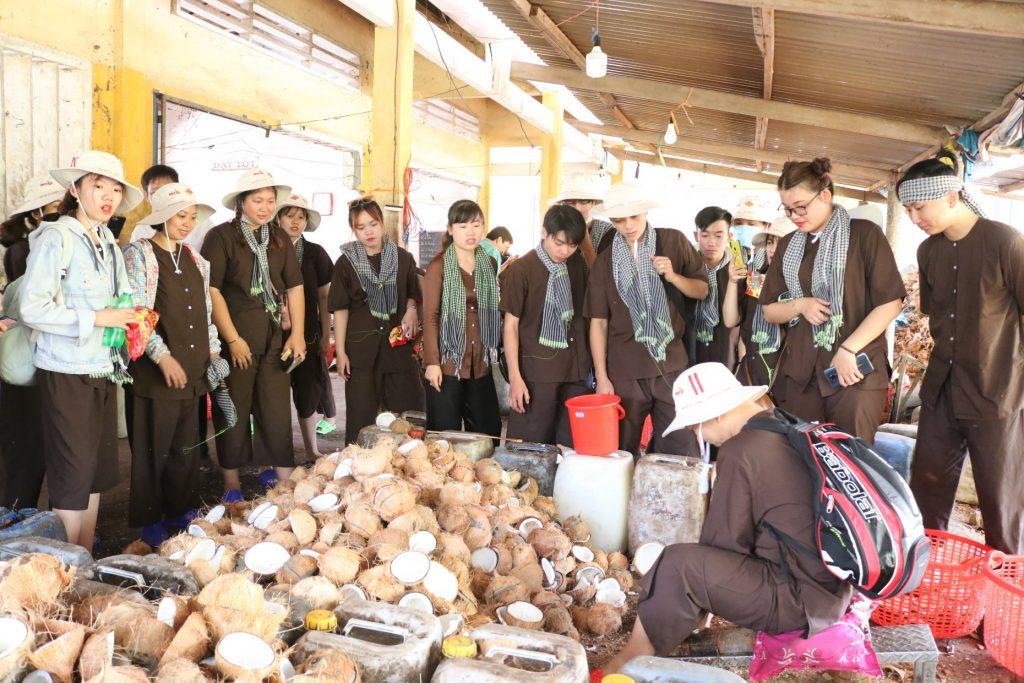 Tour du lịch Đồng Khởi huyện Mỏ Cày Nam