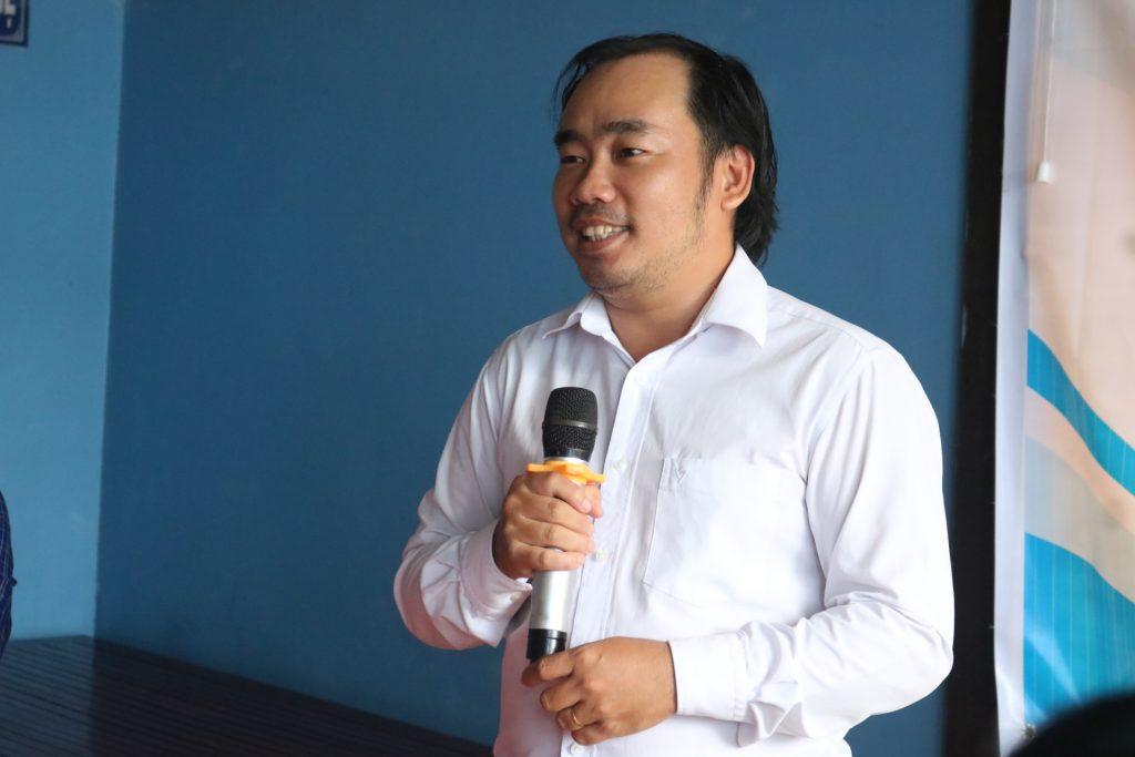 Diễn giả Võ Văn Phong- Du lịch C2T phân tích các tiềm năng và lợi thế của du lịch Mỏ Cày Nam