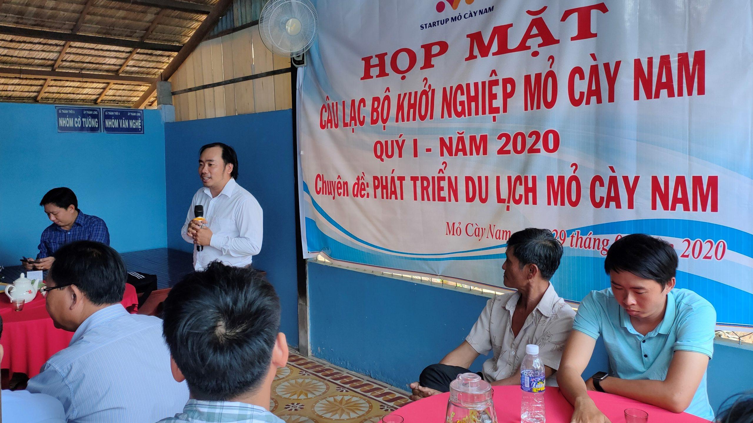 Phát triển du lịch huyện Mỏ Cày Nam